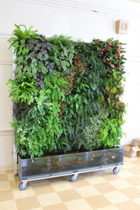 Cool Indoor Vertical Garden Design Ideas 41